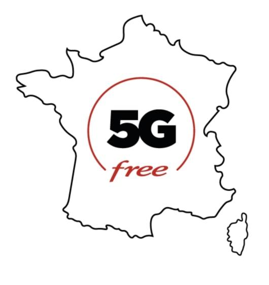 Le déploiement de la 5G en France de Free