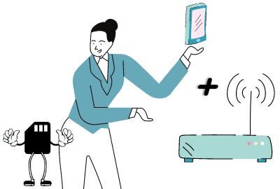 offre internet + telephone