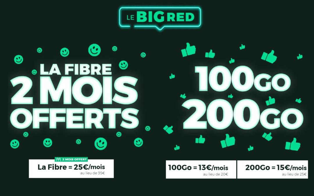 Le BIG RED by SFR et ses promos box et mobile