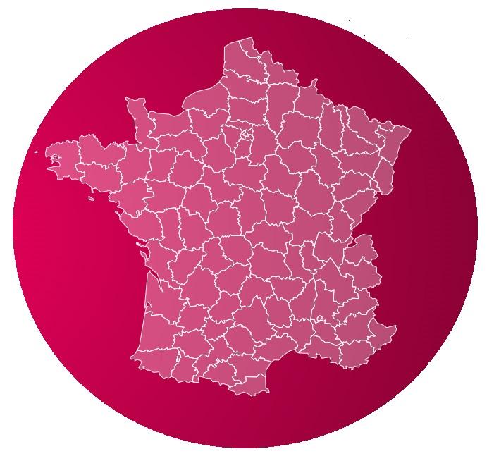 Carte de france SFR