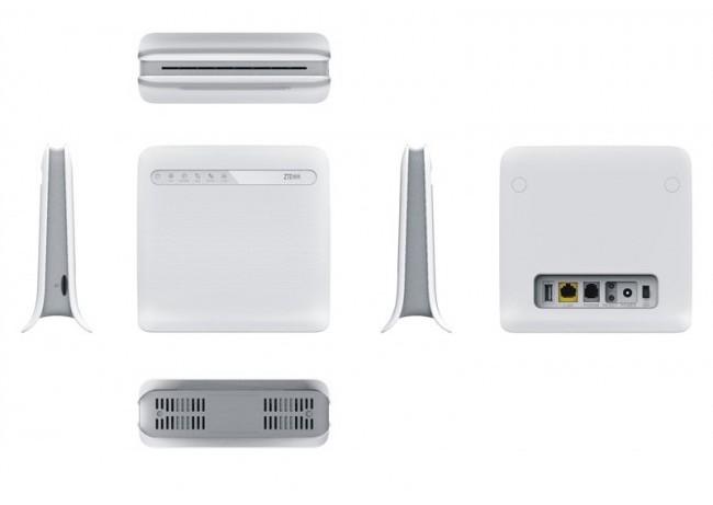 La box 4G NRJ mobile vue sous tous les angles