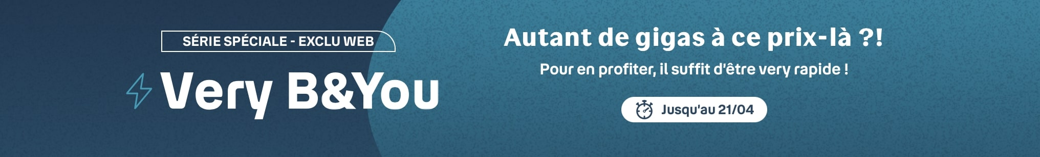 forfait mobile pas cher B and You exclu web