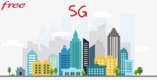 Le réseau 5G Free