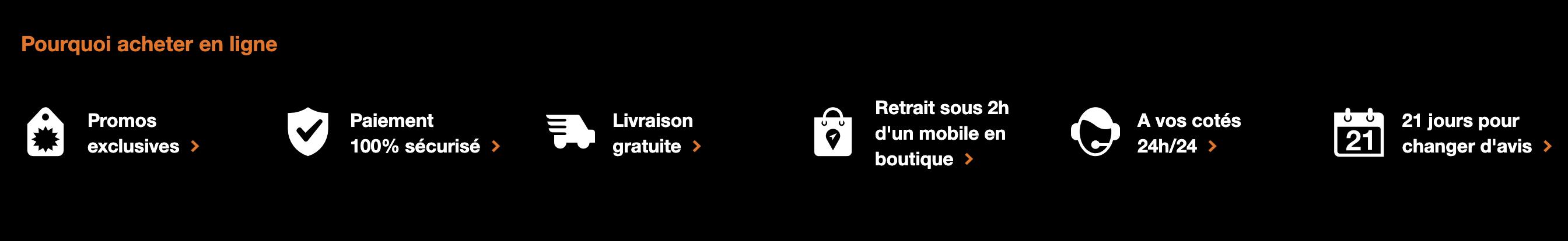 les points forts du service pour forfait mobile pas cher orange