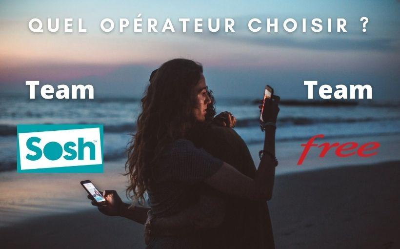 sosh ou free, quel opérateur choisir ?