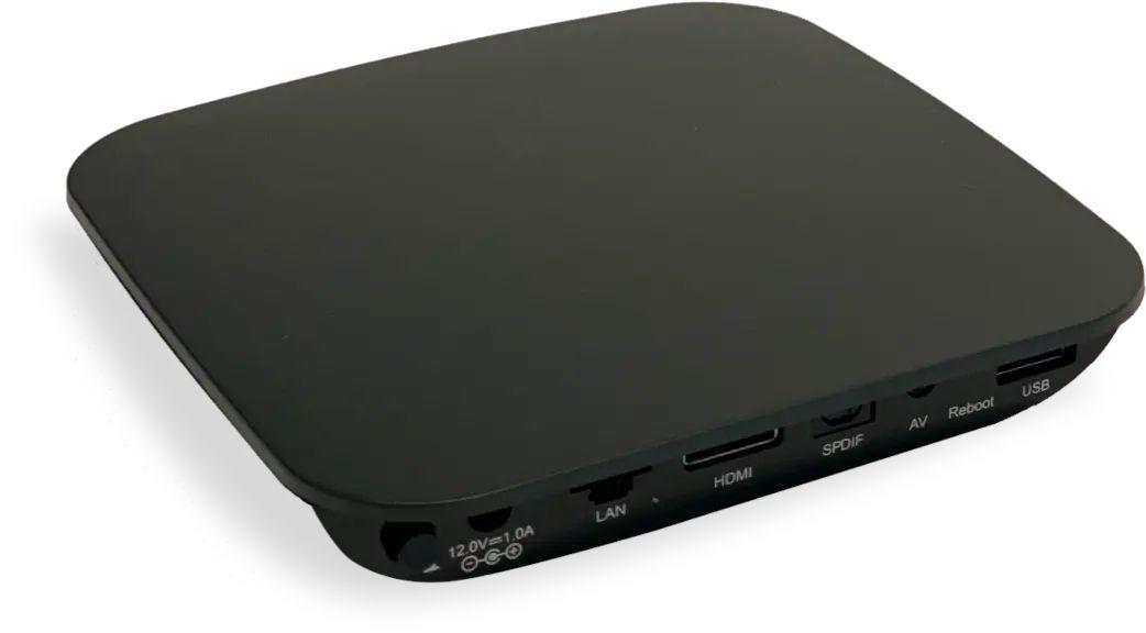 Image du décodeur connect TV de RED