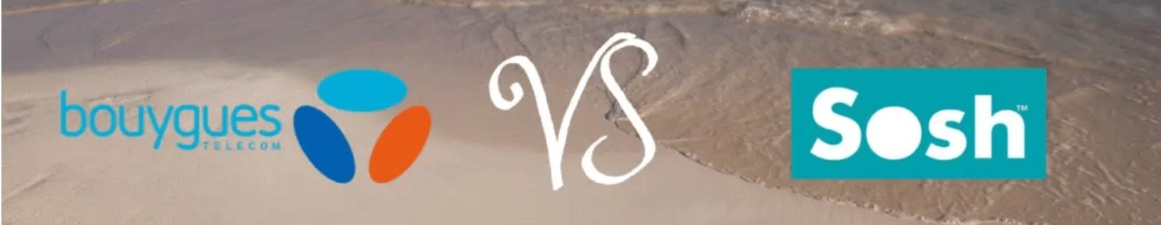 Comparaison Sosh et B&YOU pour le voyage