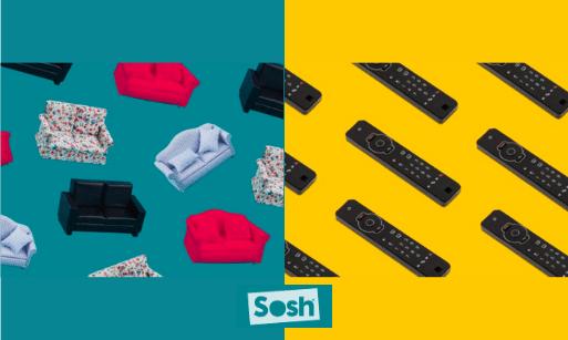 Image d'illustration avec le logo de Sosh