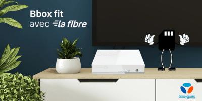 Bbox fit fibre Bouygues