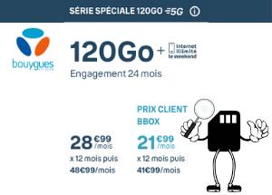 Forfait 120 Go Bouygues