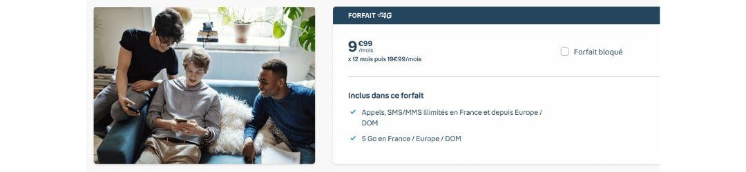 l'offre 4G Bouygues 5 Go