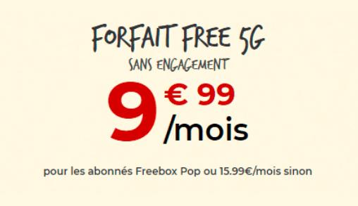 Image pour illustrer le forfait 4G Free illimité