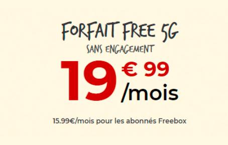 Image pour illustrer le forfait 4G Free avec 150 Go