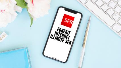 Image pour illustrer le forfait internet illimité SFR