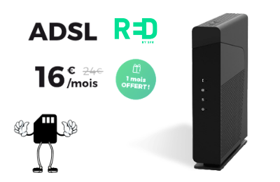 Box ADSL Red by SFR