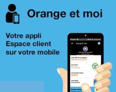 L'application orange et moi