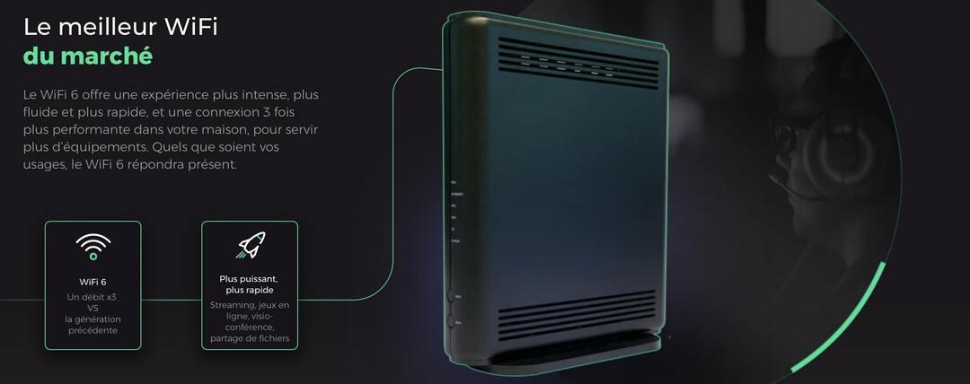 la box internet sans engagement SFR de sa filiale low cost RED