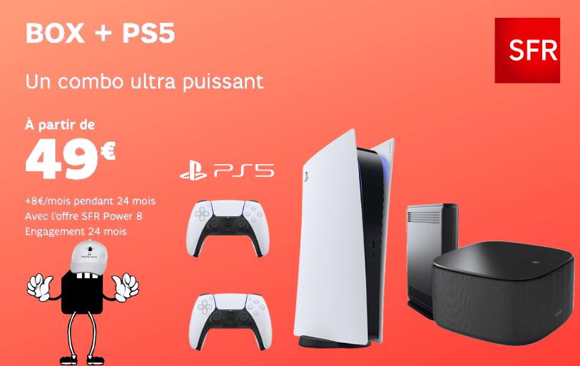 Box + ps5 un combo ultra puissant à 49€