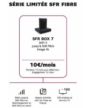 Les atouts de la série limitée SFR