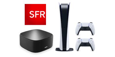 Box SFR avec PS5 offerte