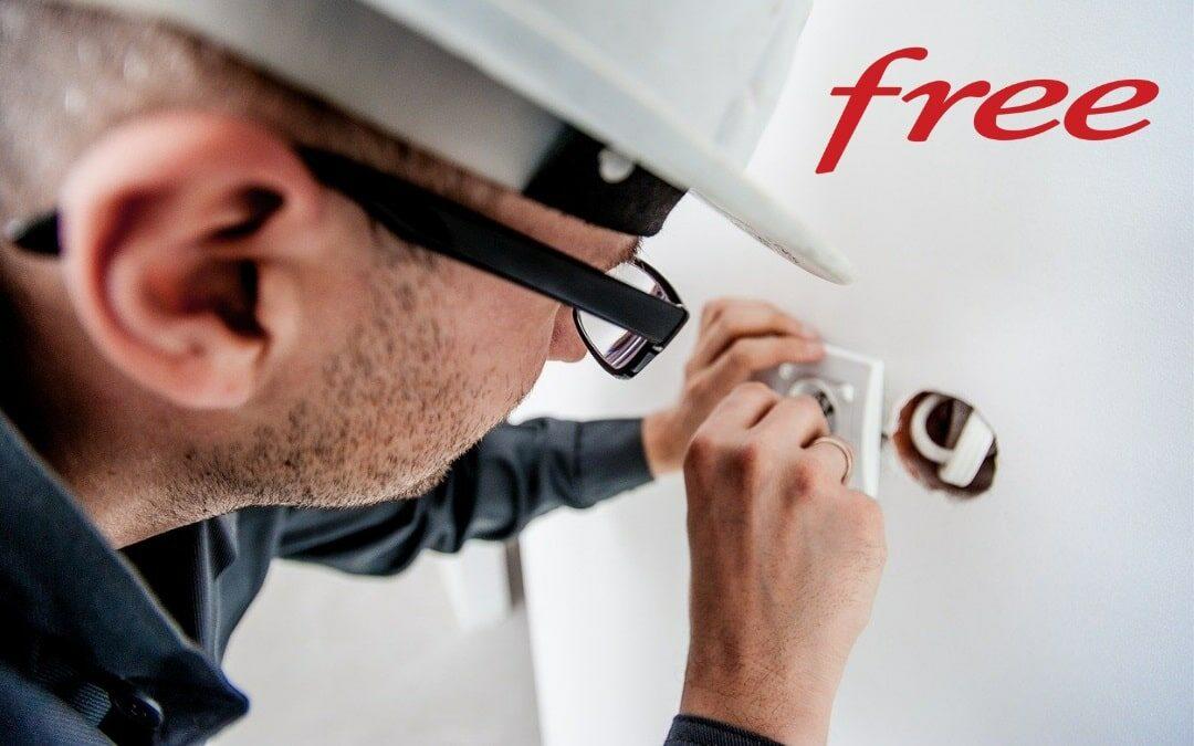 Raccordement Fibre Free : comment se passe l'installation ?