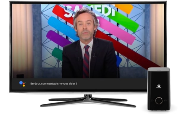 assistant google sur l'offre TV Bouygues