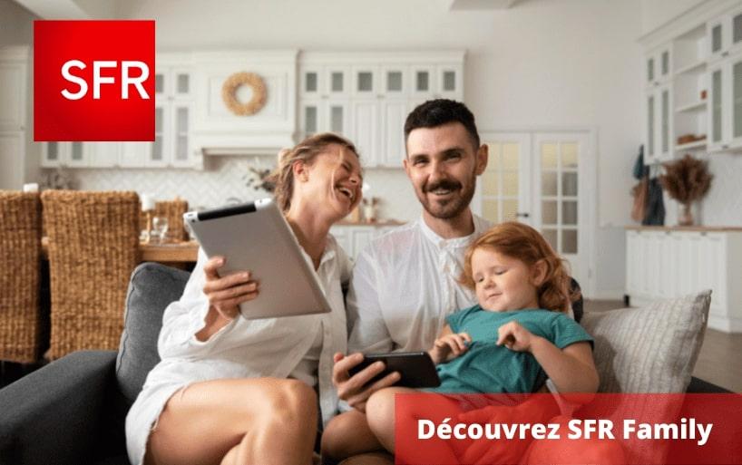 SFR Family : partagez vos gigas SFR et profitez de réductions
